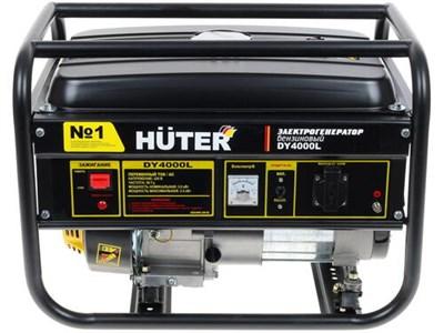 Бензиновый генератор Huter DY4000L - фото 1