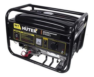Бензиновый генератор Huter DY4000LX - фото 1