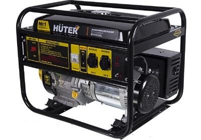 Бензиновый генератор Huter DY6500L - фото 1