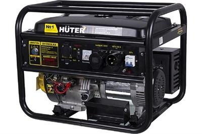 Бензиновый генератор Huter DY6500LXA - фото 1