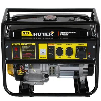 Бензиновый генератор Huter DY8000L - фото 1