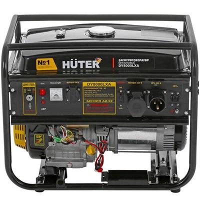 Бензиновый генератор Huter DY8000LXA - фото 1