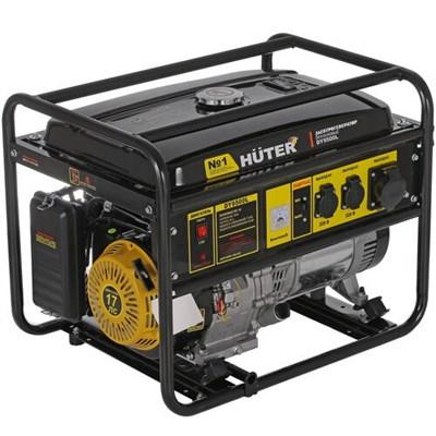Бензиновый генератор Huter DY9500L - фото 1