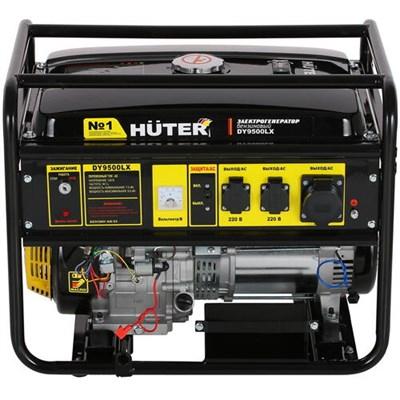 Бензиновый генератор Huter DY9500LX - фото 1
