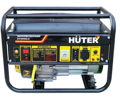 Газовый генератор Huter DY4000LG - фото 1